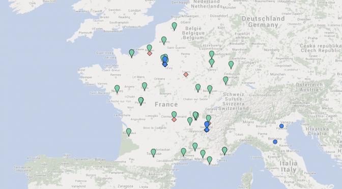 Cartographie des ressources de l'italianisme