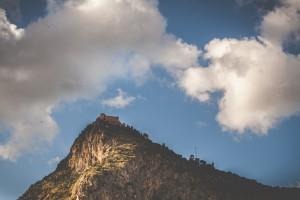 Palermo, Monte Pellegrino e Castello Utveggio. Fotografia di Paolo Castronovo.