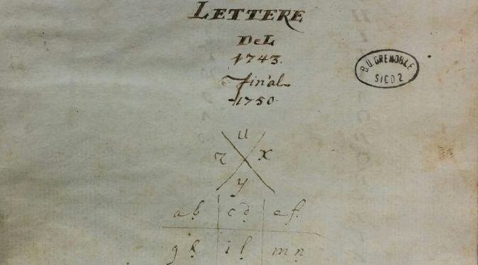 Il manoscritto delle lettere di Giacomo Passano: verso un'edizione digitale
